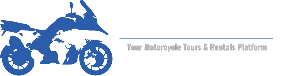 Motorcycle Booking Inversed Logo